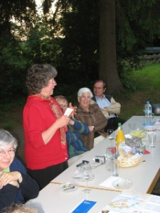 Martha invites people from the Lutheran congregations in Mariensee and Basse (where Pastor Harman was an intern) to visit us here in the U.S.  They held a dinner and meeting for Grace's group to learn more about their church and for us to share about Grace.  Overall this was a very enriching experience.